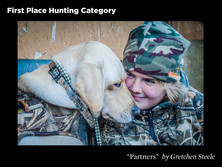 1st Place Hunting Category and Pete Czura Best of Show Award, Partners by Gretchen Steele