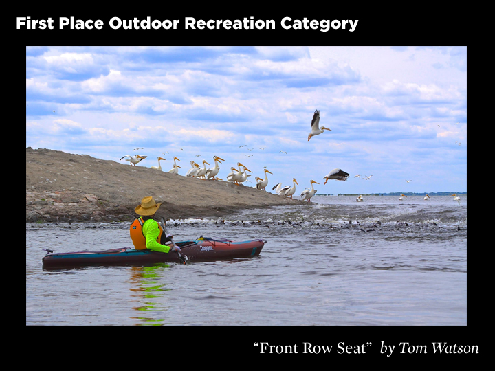 1st Place Outdoor Recreation Category, Front Row Seat by Tom Watson