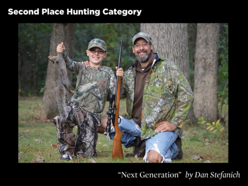 2nd Place Hunting Category, Next Generation by Dan Stefanich