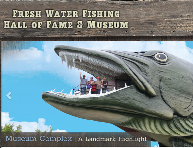 2018 Fresh Water Fishing Hall of Fame Inductees