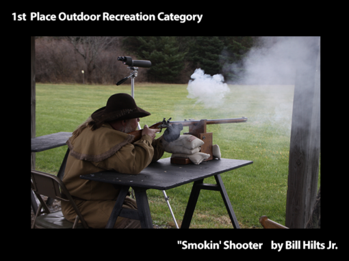 "1st Place Outdoor Recreation ""Smokin' Shooter"" by Bill Hilts Jr."