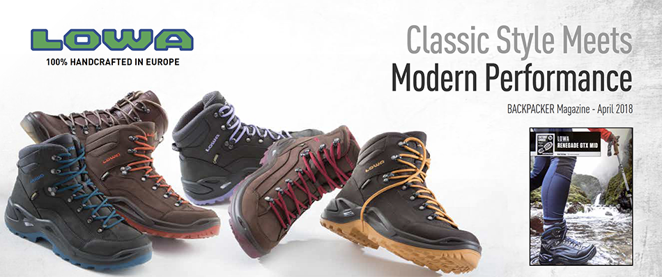 Thank you BACKPACKER Magazine for Honoring the RENEGADE GTX® MID in Your Hall of Fame!