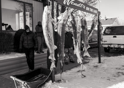 Frozen Fish Section
