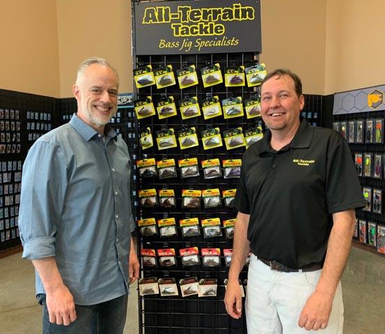 All-Terrain Founder Steve Hauge and Clam President Steve Geertsen